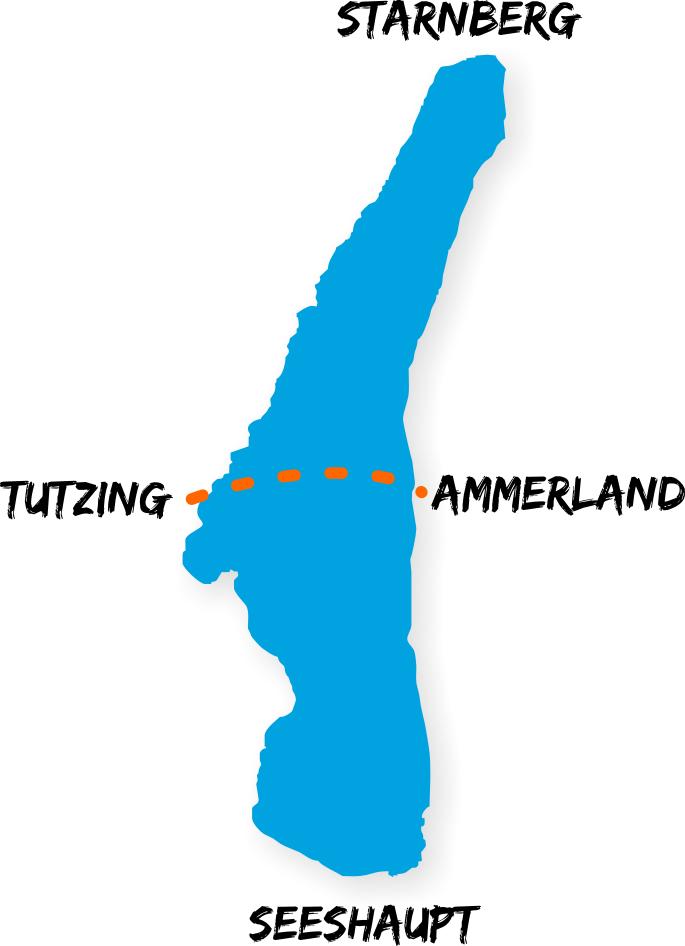 Strecke Seeueberquerung